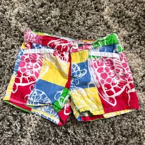 Lilly Pulitzer Callahan Shorts in Turtle Print